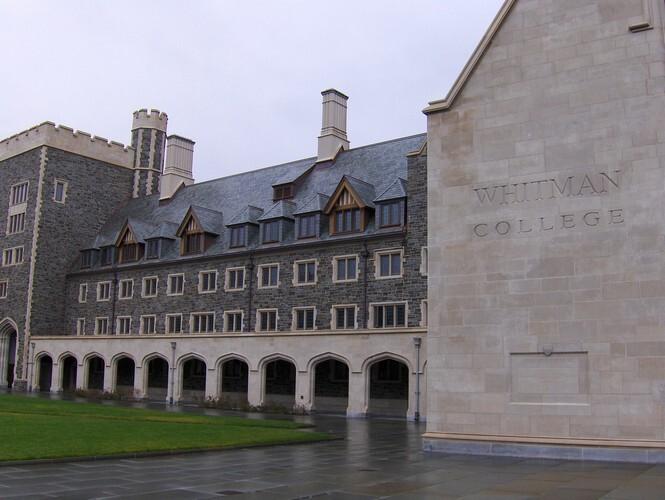 Витманский колледж, США | Whitman College