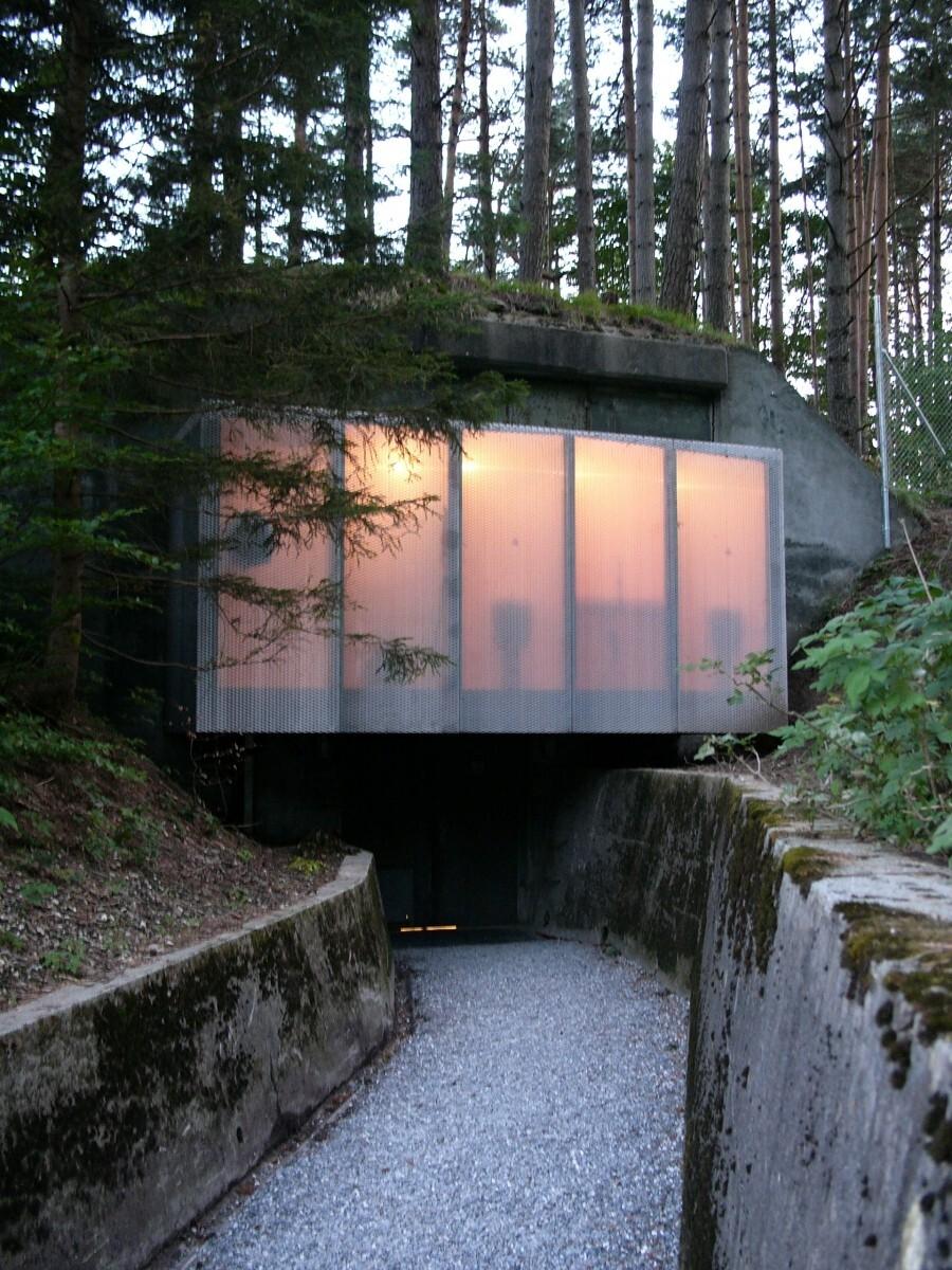бункер в Швейцарии
