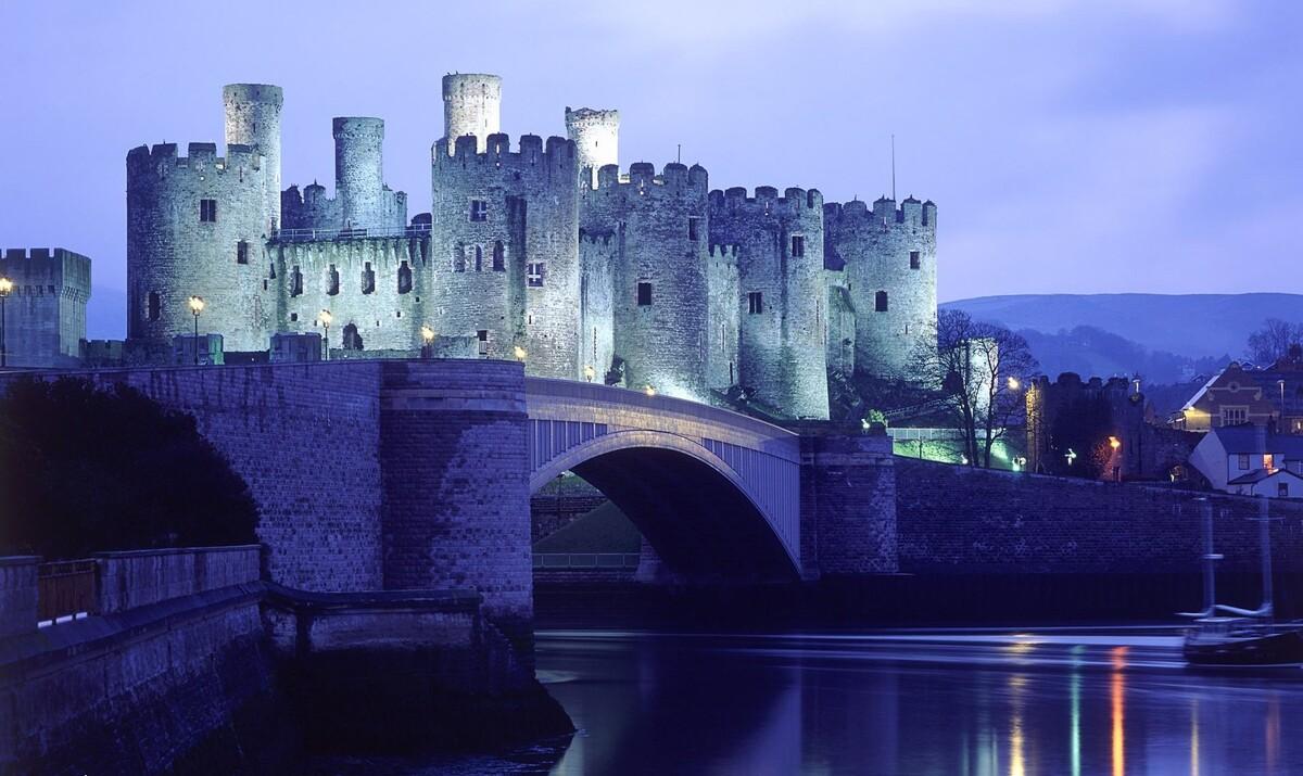Замок Конуи / Conwy Castle