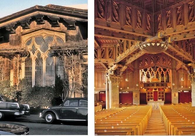 Дворец изящных искусств  в Сан-Франциско Бернард Мейбек