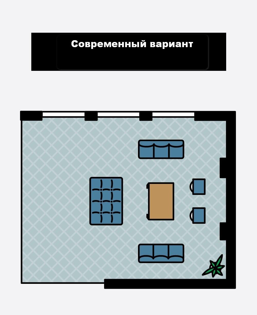 1466713902576c472e6fd77 Как расположить мебель в гостиной Фото