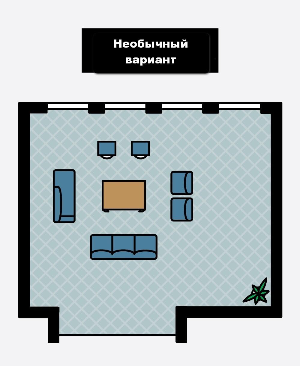 1466713933576c474d5b225 Как расположить мебель в гостиной Фото