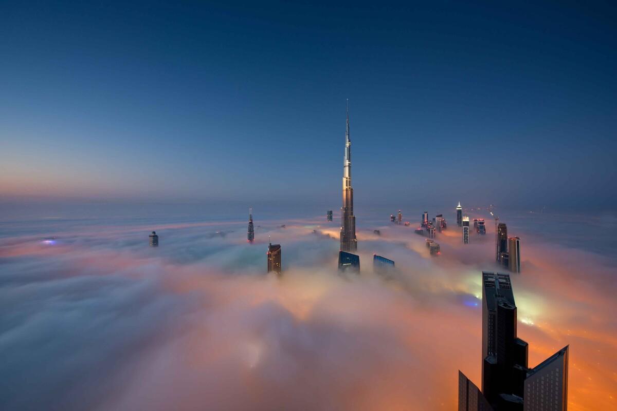 высота башни бурдж халифа в дубае