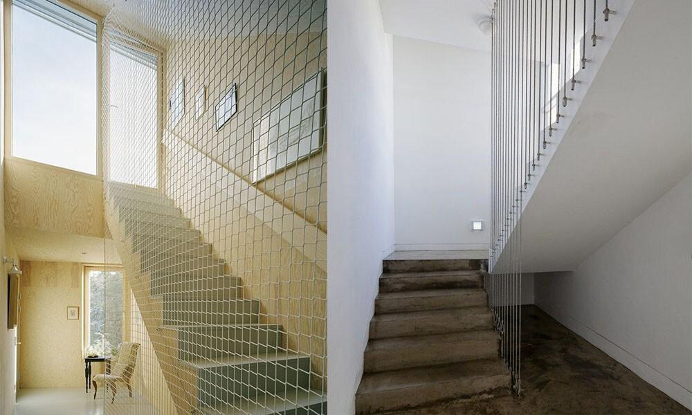 лестница ограждения необычный дизайн