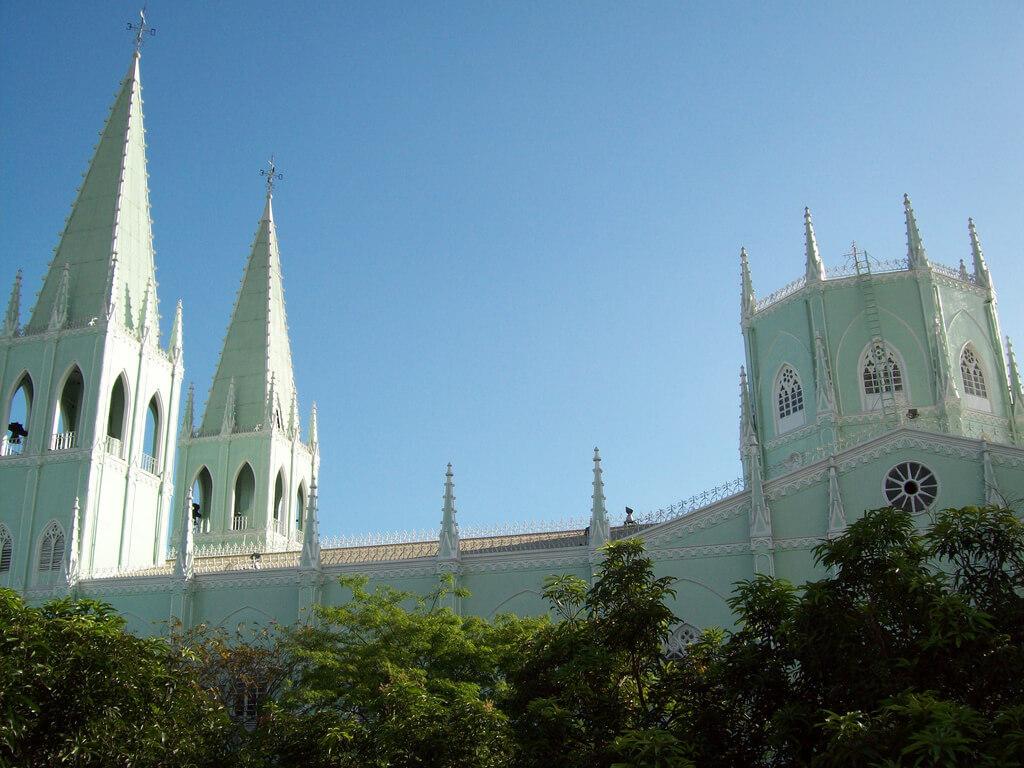 Металлическая церковь в Маниле