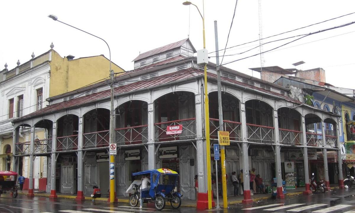 Железный дом в Перу