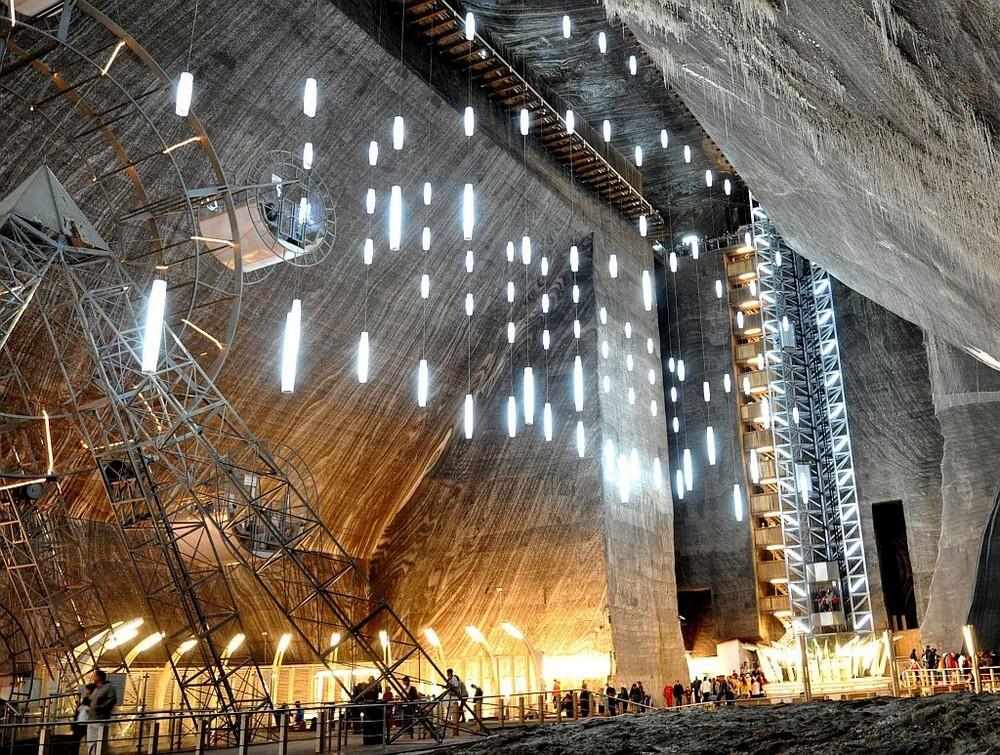 шахта в румынии