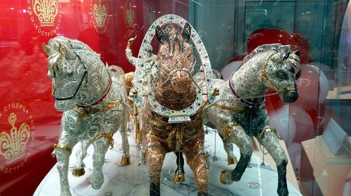 В Костроме пройдет 5-я ювелирная выставка-продажа «Золотое кольцо России»