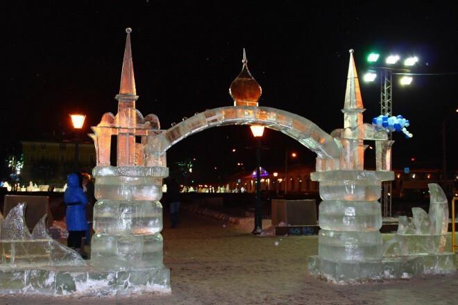 Костромичам предлагают принять участие в фестивале снежно-ледовых скульптур