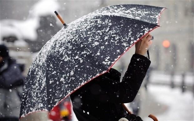 В Костромской области прогнозируются мокрый снег и ухудшение видимости