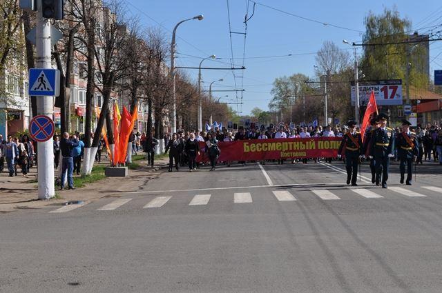 На время праздничных мероприятий 9 мая будут внесены изменения в организацию дорожного движения