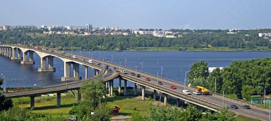 В Костроме определена дата начала капитального ремонта моста через Волгу