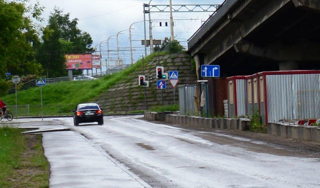 В схему организации движения транспорта на улице Лесной внесены изменения