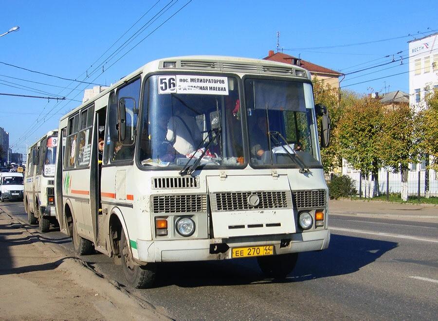 В Костроме с 20 апреля возобновляются дополнительные автобусные рейсы для садоводов