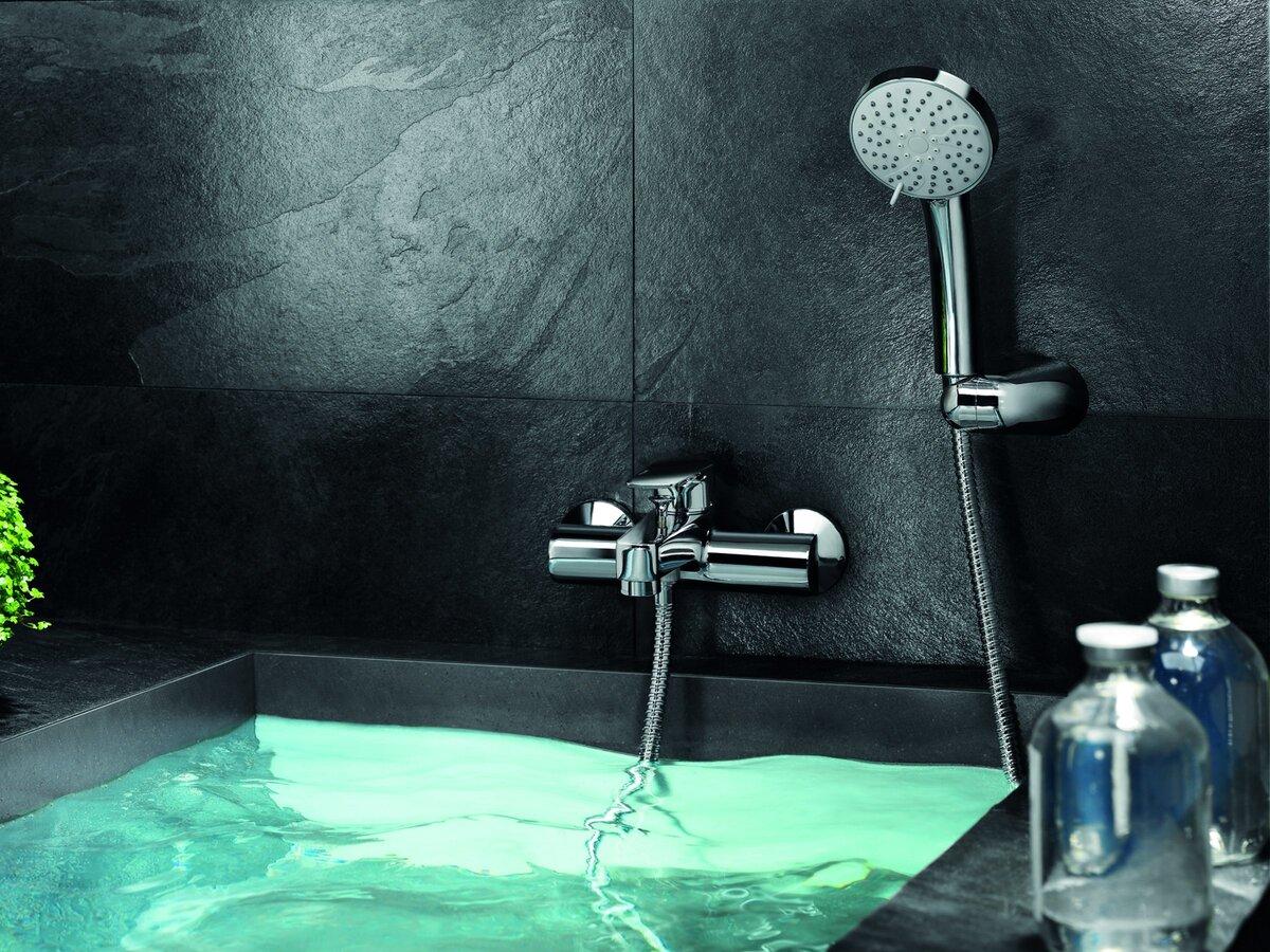 кскадный смеситель для ванны с подсветкой