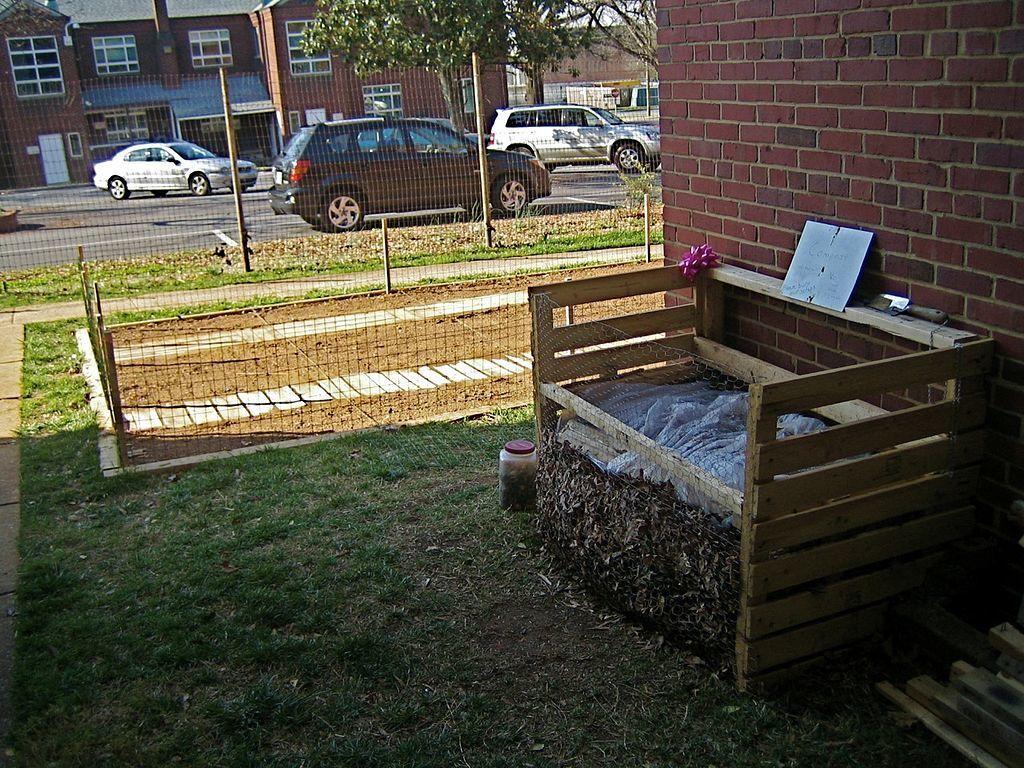 Ящик для компоста из поддонов своими руками фото 413