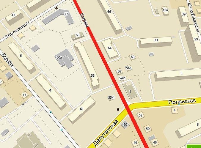 О временном изменении движения транспорта по улице Козуева