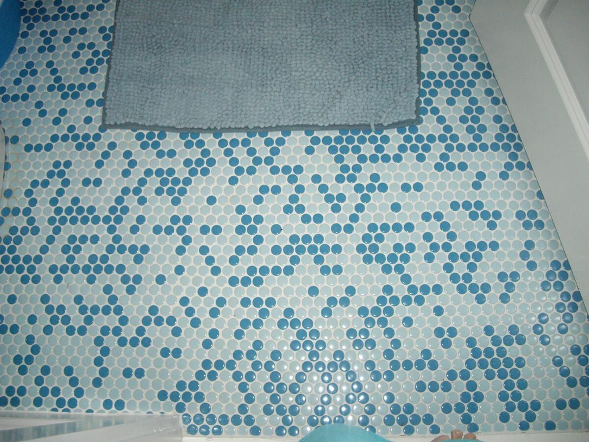 1498580940595287ccb8680 Напольная стеклянная мозаика | Роскошь и уют Фото