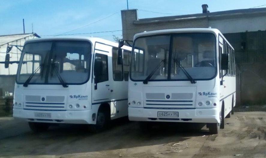Костромские перевозчики выводят на заволжские маршруты дополнительные автобусы