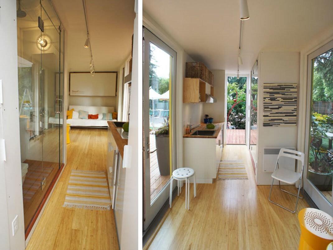 150589463159c220e724e90 Удивительные современные дома из контейнеров Фото