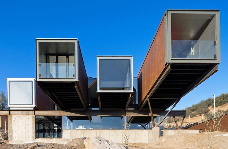 150589505959c222931e0a5 Удивительные современные дома из контейнеров Фото