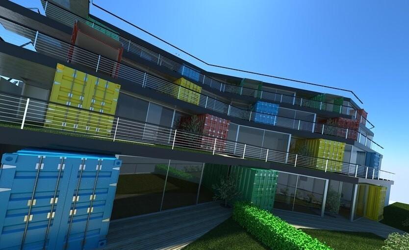150589511159c222c7418c2 Удивительные современные дома из контейнеров Фото