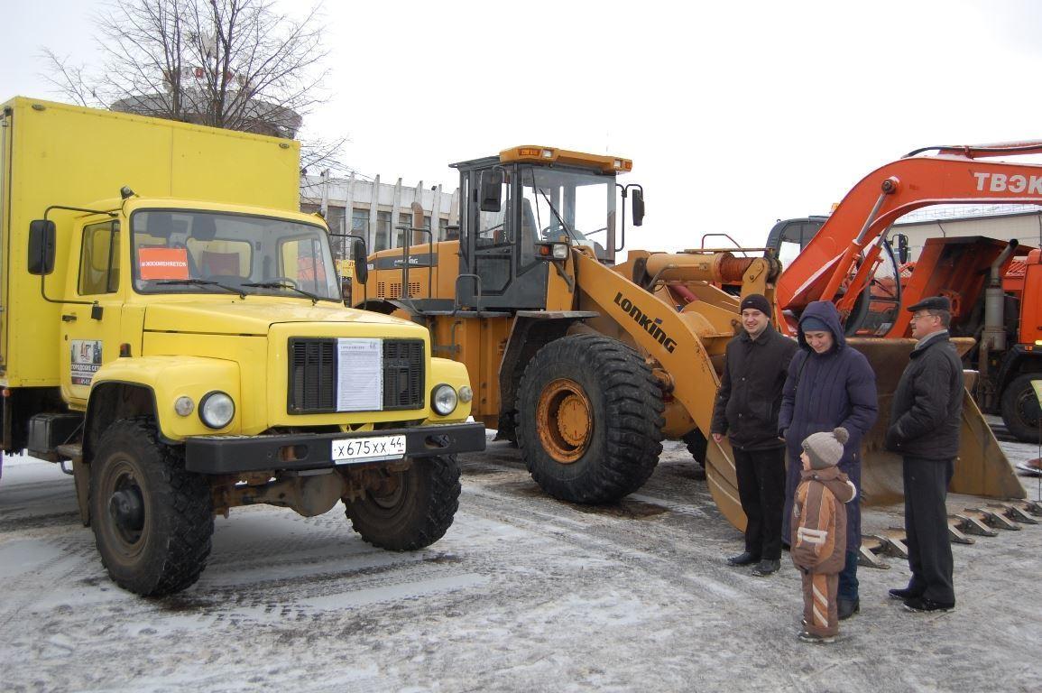 23 сентября в Костроме пройдёт парад коммунальной техники