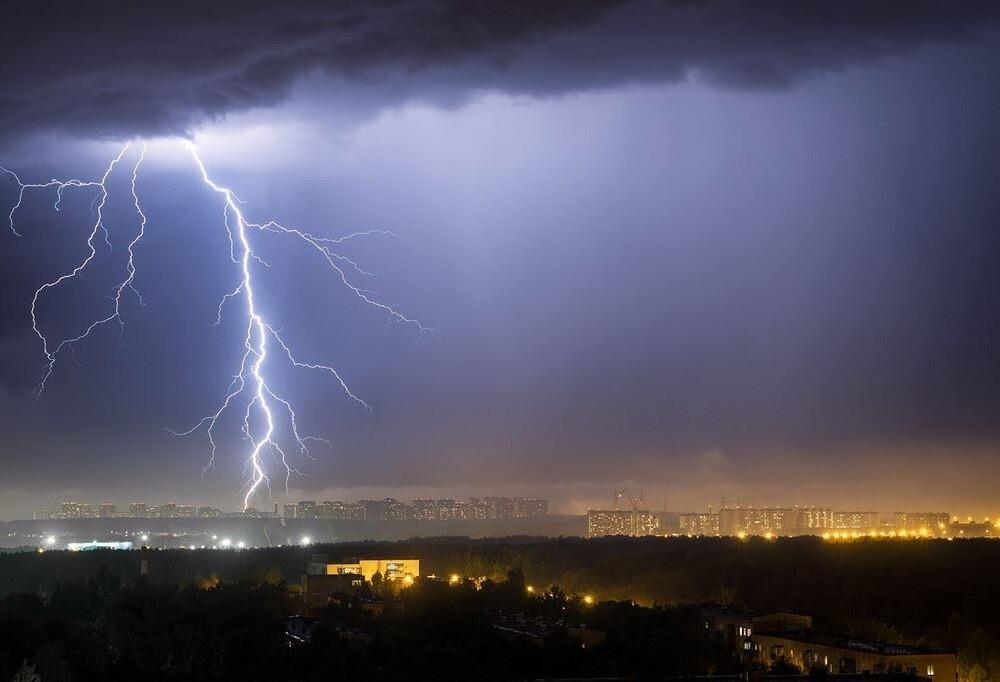 В Костроме и по области ожидаются грозы с дождем