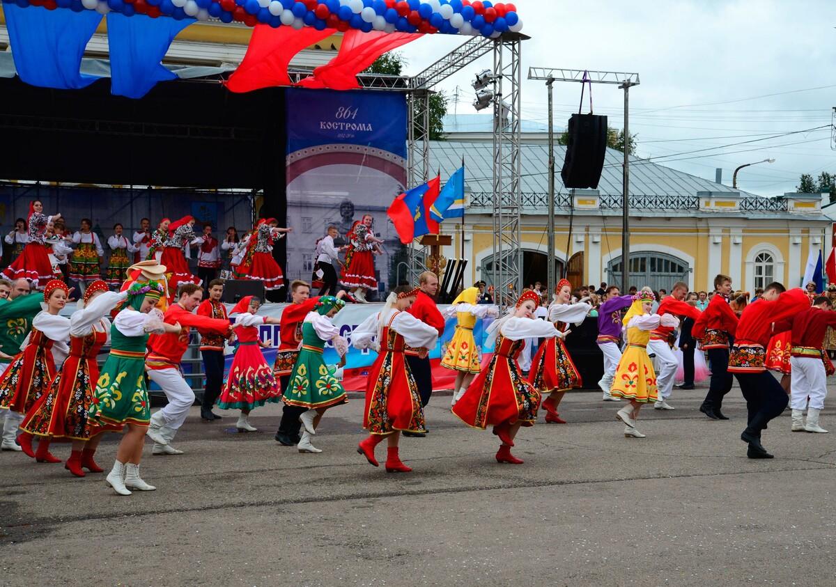 В дни празднования юбилея Костромы и годовщины образования области пройдёт более пятидесяти мероприятий