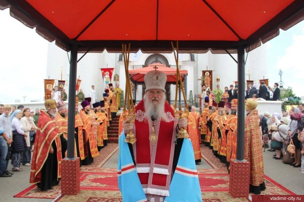 28 июля во Владимире пройдет праздник Крещения Руси