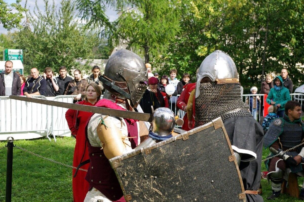 В Костроме открылась студия исторического фехтования