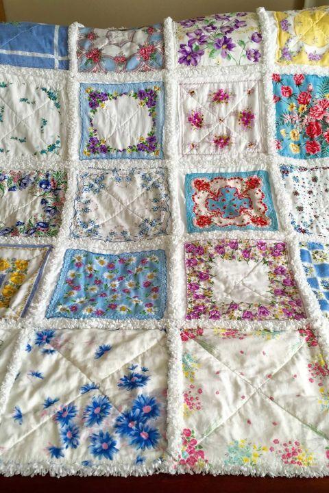 самодельное стеганое одеяло