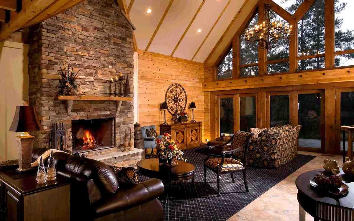 148836791358b6b1297999e Как соорудить камин в частном доме Фото