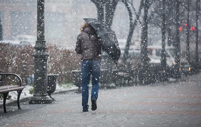 В Костроме и по области прогнозируется мокрый снег и усиление ветра