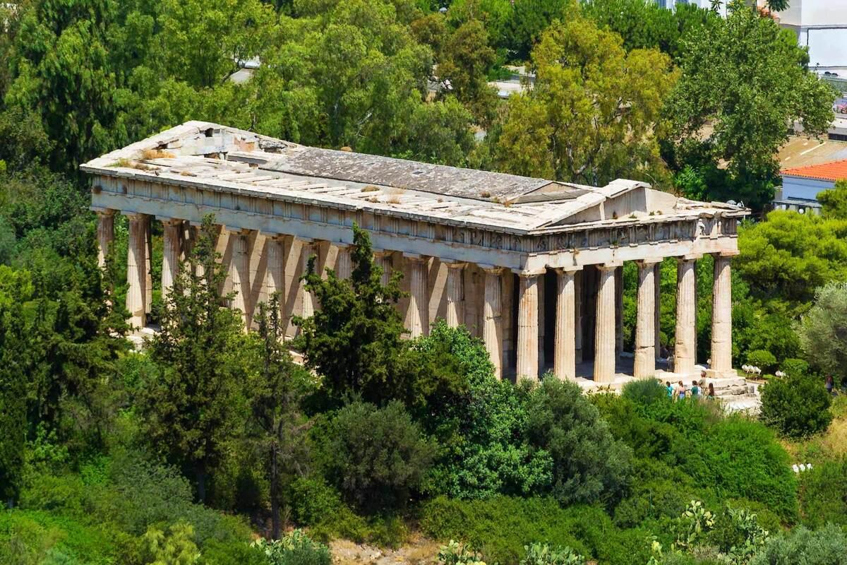 Храм Гефеста близ Акрополя, Греция