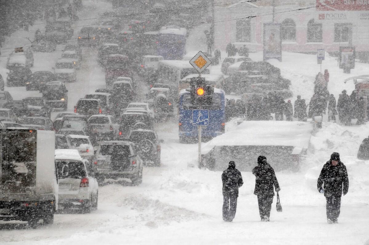 В Костроме и по области ожидается усиление ветра и мокрый снег