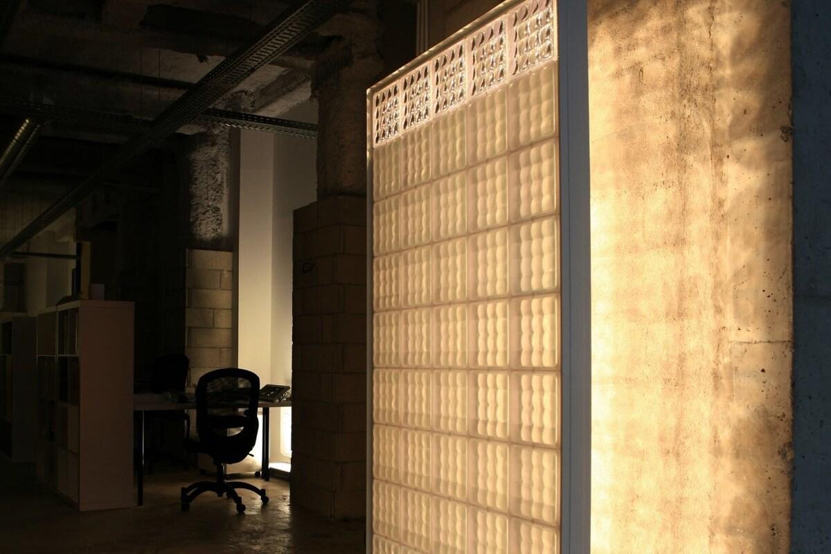 15102032995a03dfa32b5c9 Использование стеклянных и акриловых блоков Фото