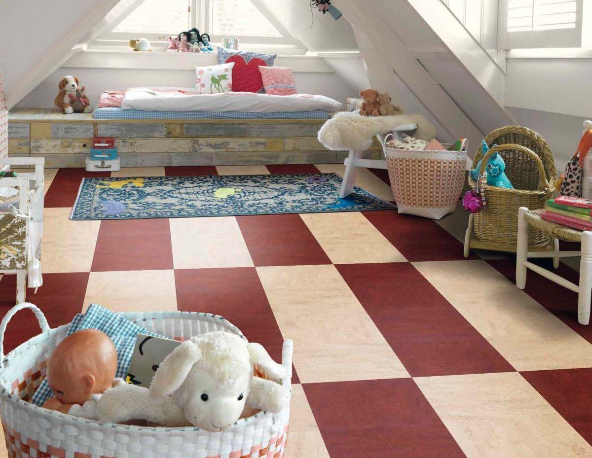 мармолеум в детской комнате