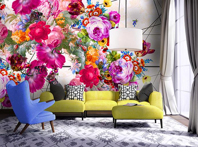 150818081259e5034c7d9b7 Потрясающие разнообразные обои с цветочными мотивами Фото