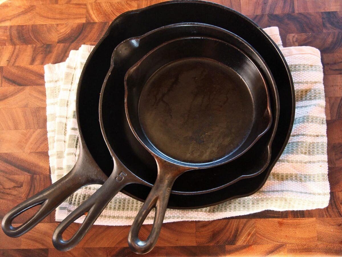 Как сделать сковороду чтобы она не пригорала