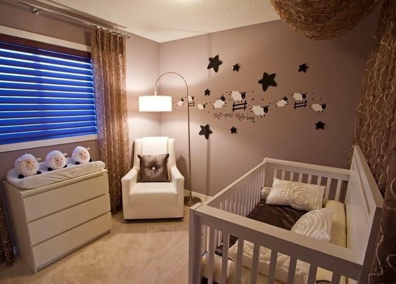 стильная комната для малыша