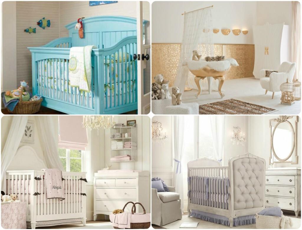 мебель в комнате для новорожденного