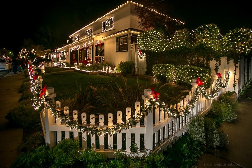 украшение рождественские на дом