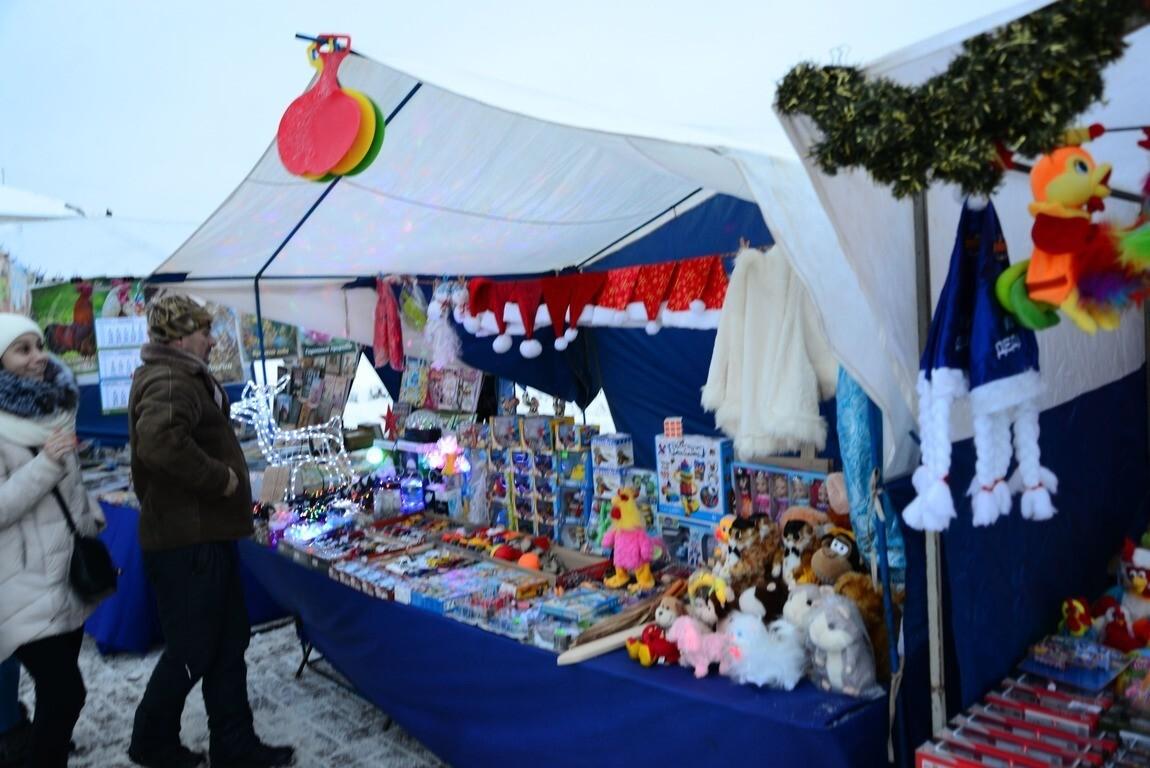 С 25 декабря в центре Костромы начнет работу новогодняя ярмарка