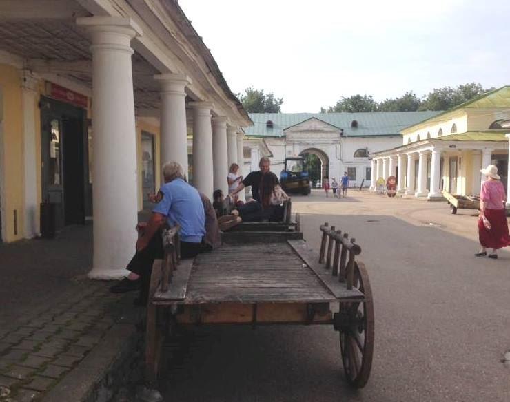 В центральной части Костромы ограничат движение транспорта в связи со съёмками фильма