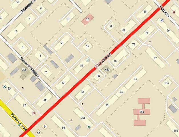 На время ремонта сетей на участке улицы Катушечной вводится ограничение движения транспорта