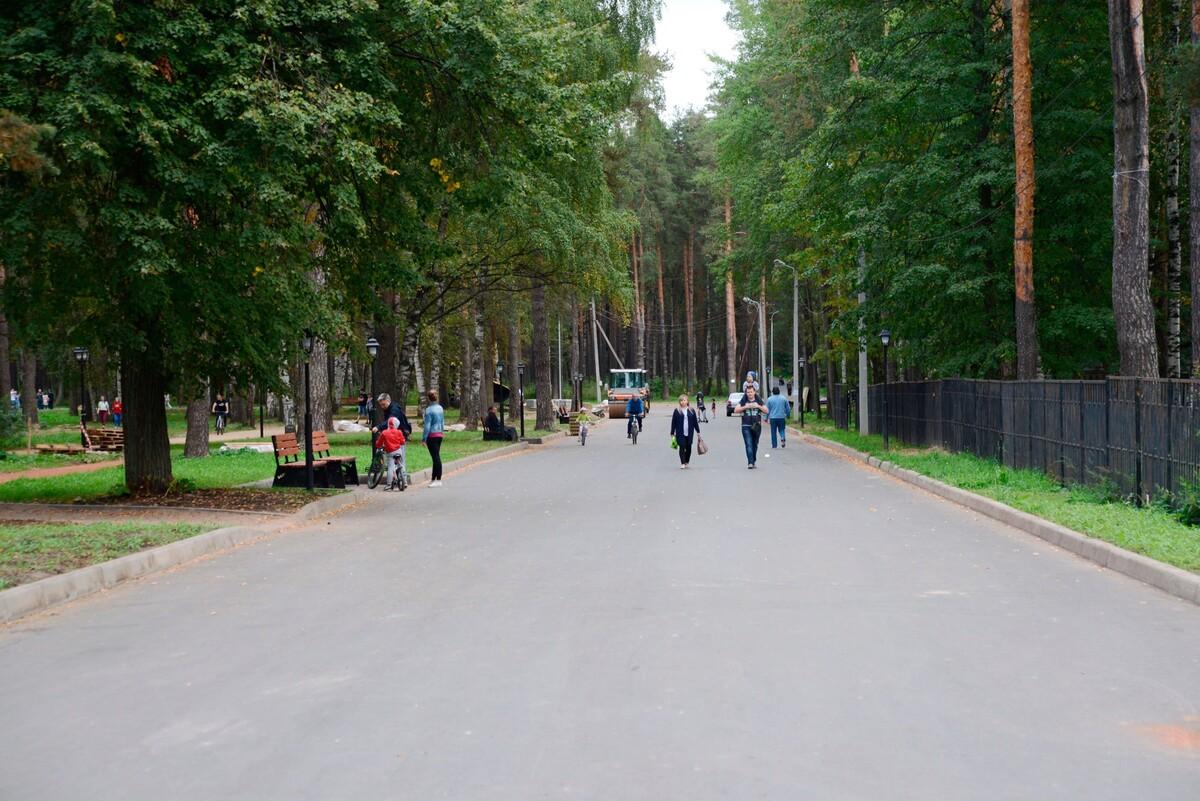 С 12 по 14 сентября въезд транспорта на территорию парка «Берендеевка» будет временно ограничен