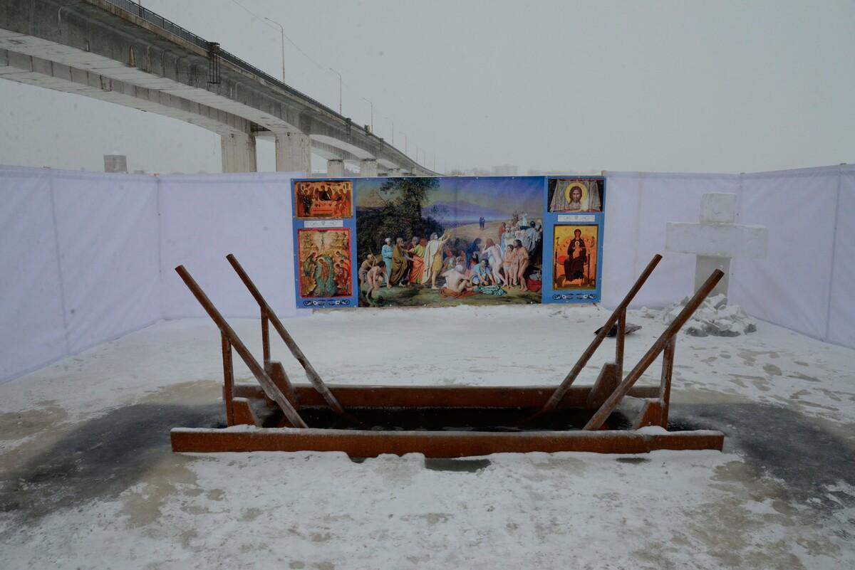 В Костроме для крещенских купаний планируется оборудовать две купели