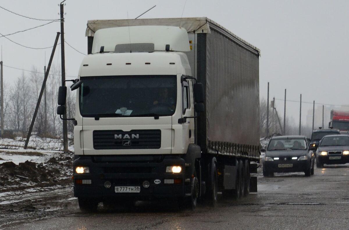 С 20 января на нескольких улицах Костромы вводятся ограничения для движения большегрузного транспорта