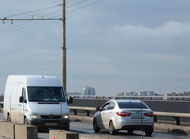 С 1 февраля в Костроме снимаются ограничения для большегрузного транспорта при движении по мосту через Волгу